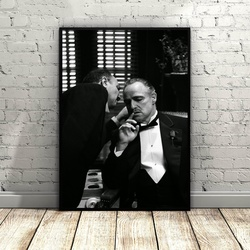 The Godfather Art Silk poster Home Decor 12x18 24x36inch