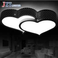 T Lovely Cute Love Acrylic Ceiling Light Lamp Creative Fashion Creative Sweety Home Lighting For Study