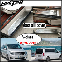 car-door-sill-plate-decorationrear-bumper-sill-for-v260-vito-v-class304-stainless-steel-from-top-factoryasia-free-shipping