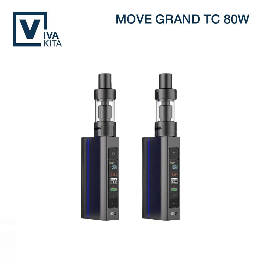 Vivakita 80W OLED Screen Box Mod pro Tank Black Blue White Mod Big Color Screen Big