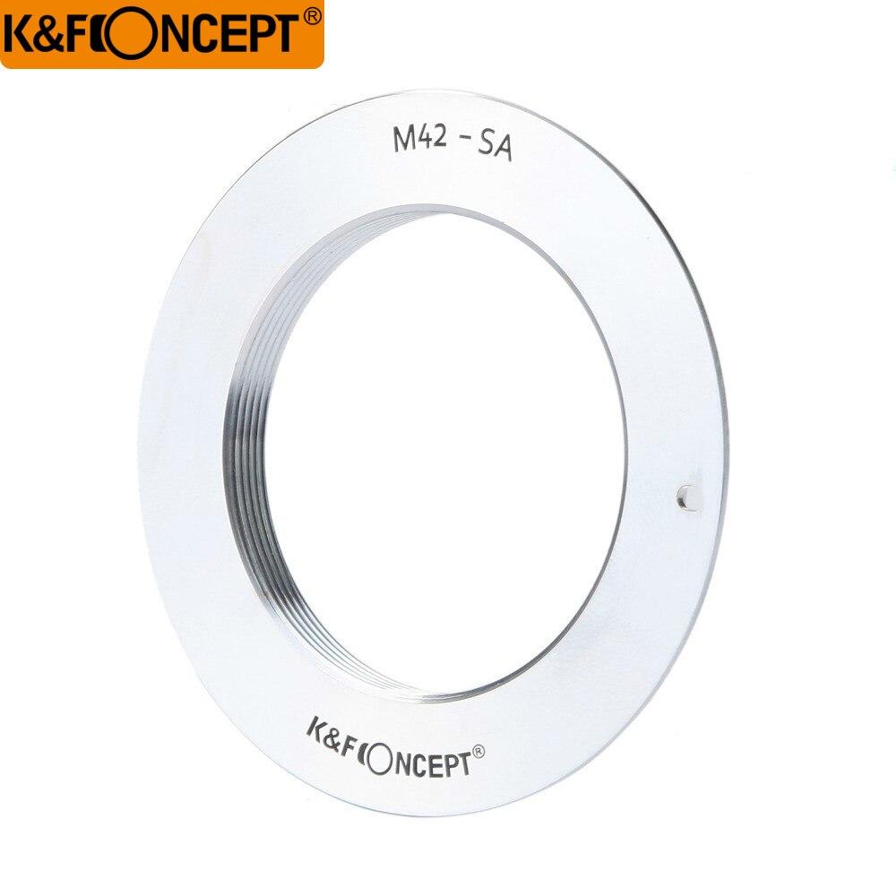 K & F Concept Lens Mount Adapter pour M42 42mm Fil Monture à Sigma SA Lentille Caméra Corps