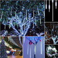 JIAWEN Meteor Light 8-Tube 448-3528SMD 50CM LED String Lights (AC 110-220V) US Plug