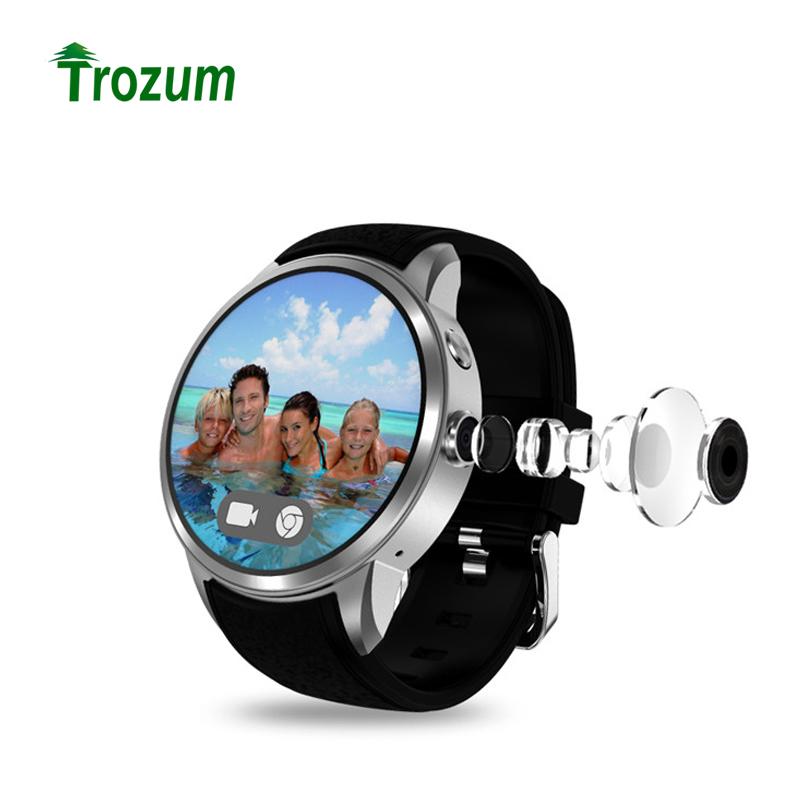 Trozum x200 android 5.1 smart watch pulse mtk6580 3g wifi gps support nano sim cards smartwatch with 2.0 camera watch 2018 дождевики x lander для коляски x pulse