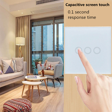3 colors Waterproof 1/3 Gang LED light Touch Switch 220V EU Standard Sensor Wall lamp Switch Tempered Glass Panel Module switch eu standard switch wall touch switch luxury white crystal glass 1 gang 1 way switch 220v lamp touch sensor wall switch