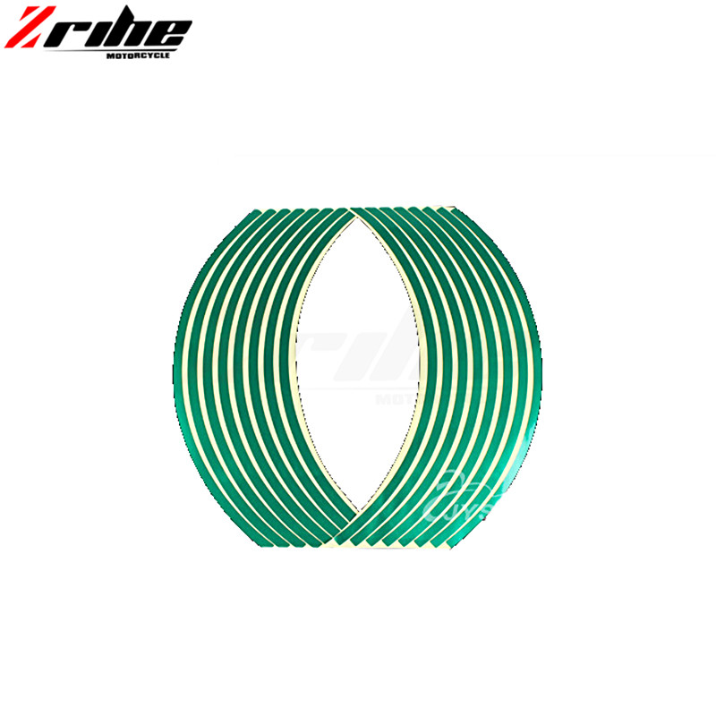 FOR MT07 MT09 TMAX Strips Car Styling Motorcycle Automobiles Wheel Tire Sticker On Car Rim Tape Car Sticker Parking Accessories