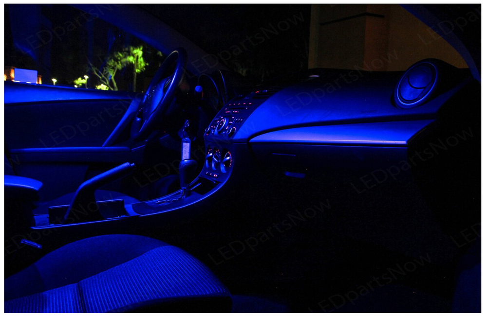 Free Shipping 5pcs Lot Car Styling Premium Package Kit Led Interior Lights For Ford