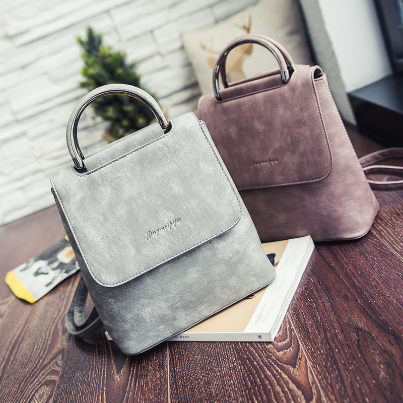 New Arrival 2019 New Winter Backpack  Female Leisure Dual-purpose Portable Shoulder Bags Mini