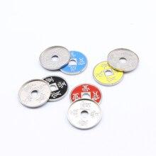 Китайские монеты и оболочки Волшебные трюки одна монета плюс оболочка без инструкции