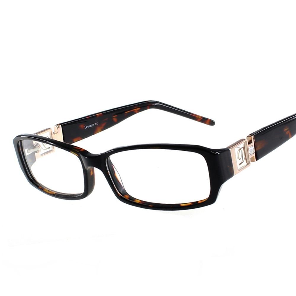 ZENOTTIC 2019 Eyeglasses Frame Women Luxury Optical Lady Style Acetate Glasses Spectacles Oculos De Grau Prescription Eyeglasses