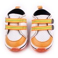 Fashion Outdoor Baby Shoes Hard Sole Leather Comfortable Patchwork Baby Boy Girl Toddler Walking Shoes 0-15 Months