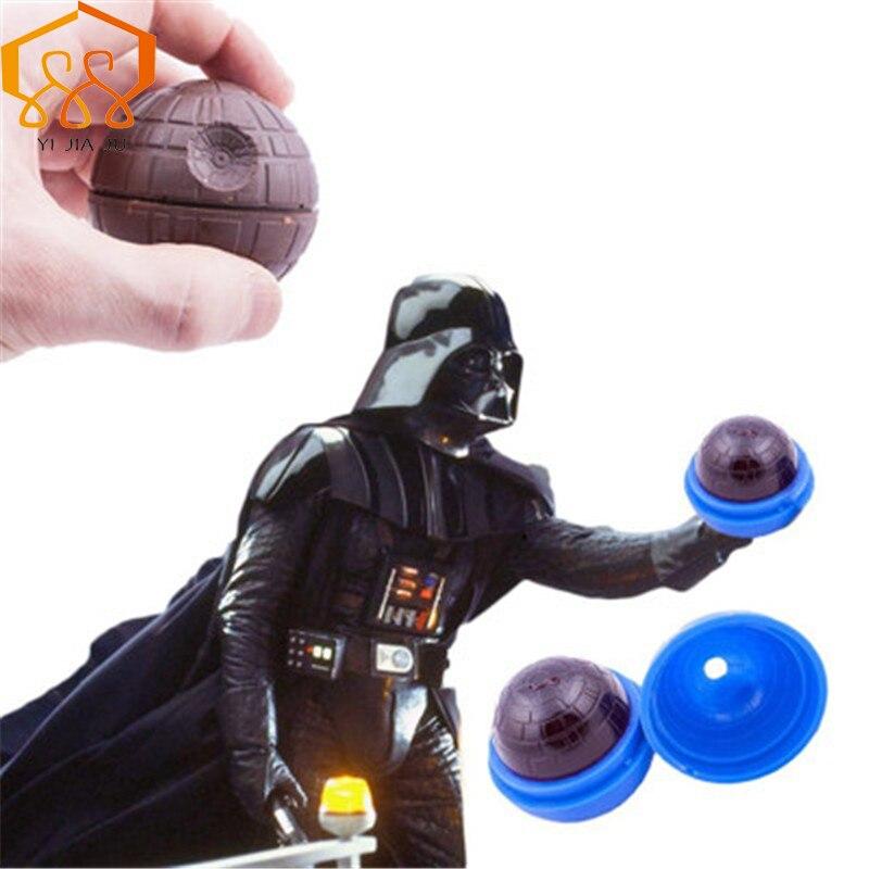 Silikona šokolādes pelējums Star Wars vasaras kārtā hokeja kūka pelējuma virtuves Bakeware un partiju bar piederumi cepšanas rīki