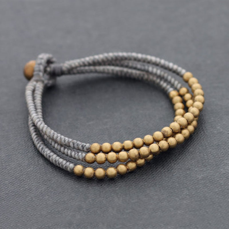 Nepal Beads With Brass...