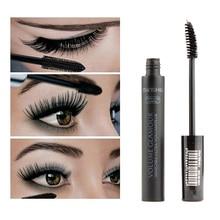 Top Brand 3D fiber lashes  Makeup set High Quality 1pcs eyelash waterproof double mascara все цены