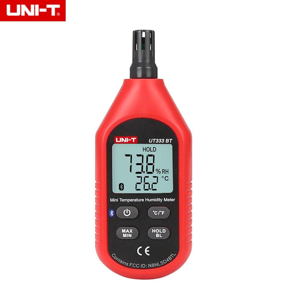 UNI T UT333BT Bluetooth Mini LCD Digital Air Temperature Humidity Meter