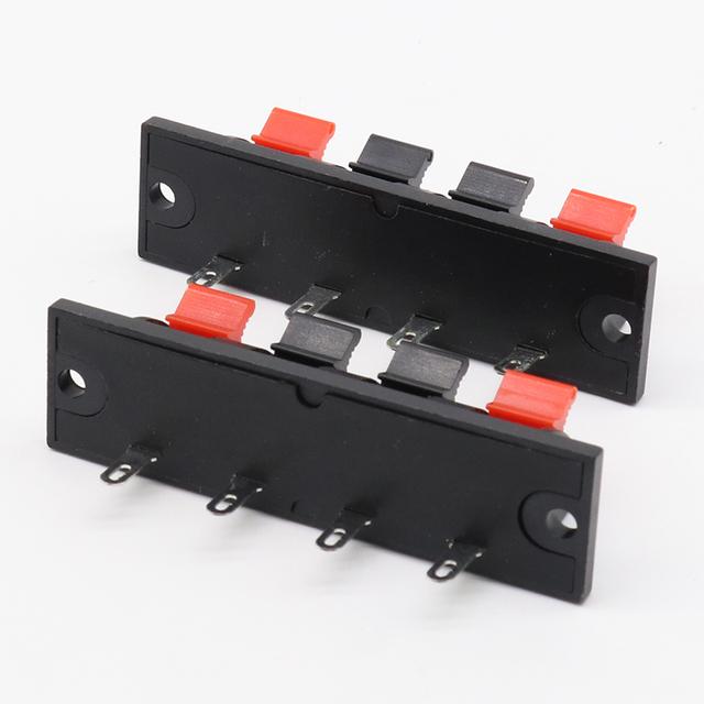 5 Pcs IMC Hot Single Row 4 Pin 4 Position Speaker Terminal Board Connectors