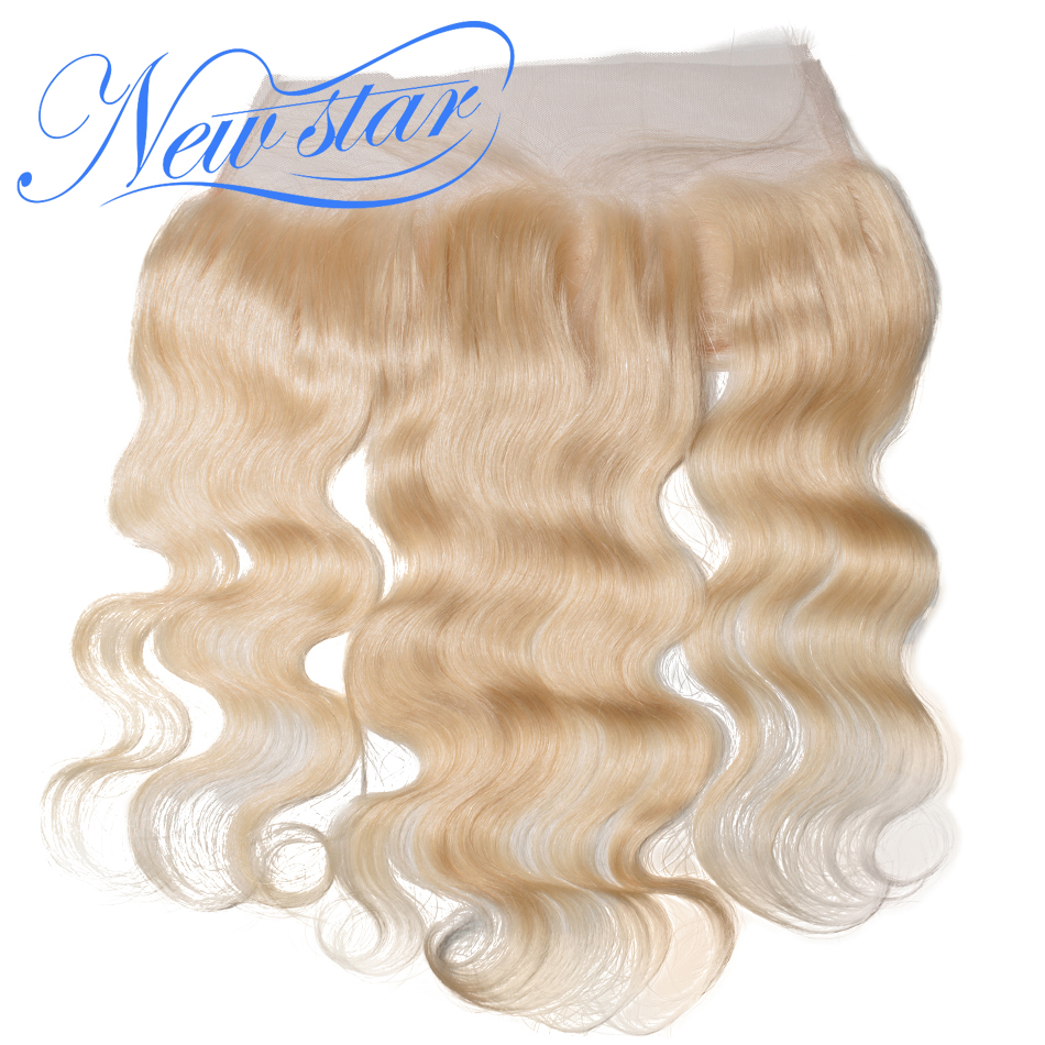 Hair-Products Lace-Frontal-Closure Blonde Hairline Remy-Hair Body-Wave Human Pre-Plucked