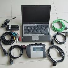 Звезда Диагностика mb star c4 мультиплексор с d630 ноутбуком,12 программное обеспечение в супер ssd сканер для автомобилей и грузовиков высокое качество