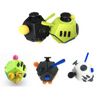 Fashion Fidget Cube 2 Toy With Active Rocker Fidget Cube II Anxiety Stress Relief Focus 12