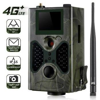 HC330 LTE 4G Trail Cámara 16MP cámara de caza IP65 0,5 s trampa de fotos visión nocturna infrarroja salvaje Cam Hunter Scouts Tasse SMS