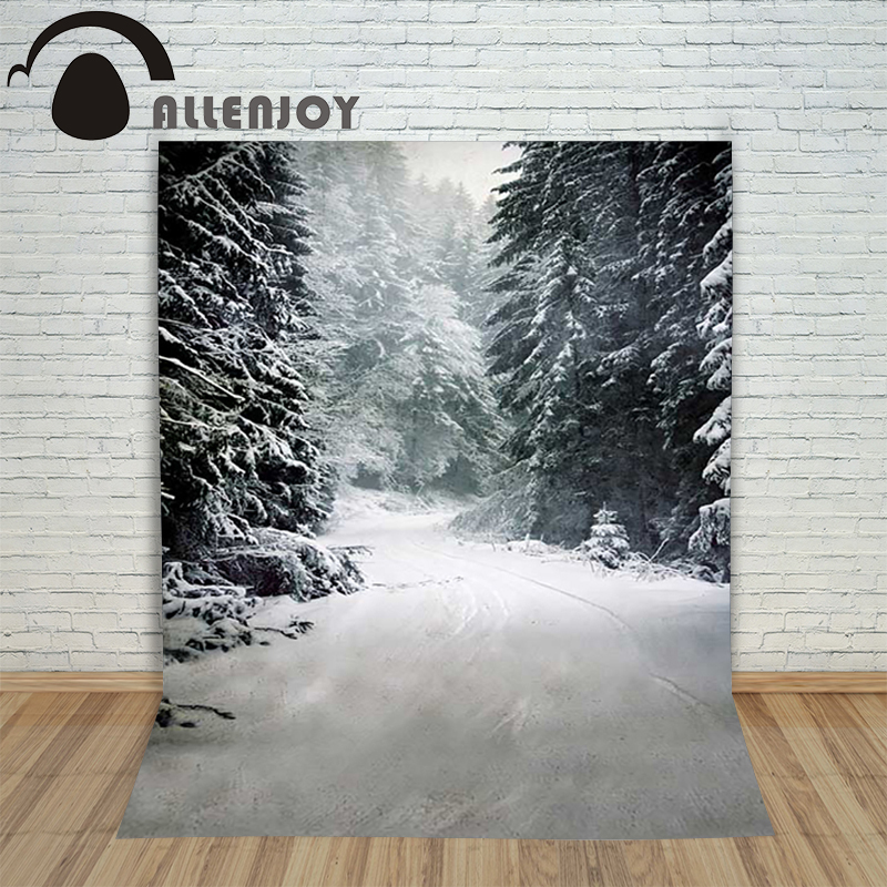 Christmas children's photo background Snow forest winter blur backdrop photography vinyl studio camera lovely christmas photographic background snow snow in winter new year photo vinyl cloth year of the rooster