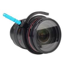 Металлическая ручка для непрерывного изменения фокусировки зубчатое кольцо Фокусировочный ремень для Canon Nikon sony Объектив камеры DSLR Rig видеокамеры