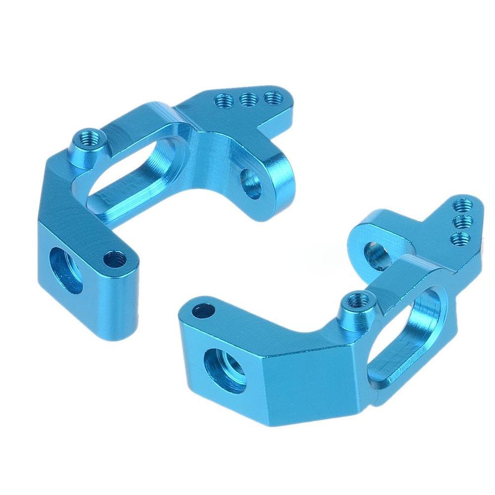 1/10  Alum Aluminum Front Hub Carrier(L/R) RC HSP 1:10 Car Upgrade Parts 102010 Blue 02132
