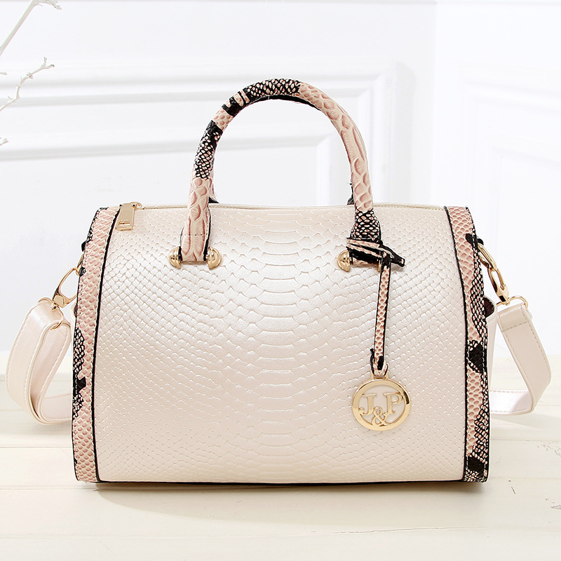 ФОТО Hot sale.2016 new fashion Brand snakeskin pattern PU shoulder bag messenger bag  pillow type women PU handbag JF116