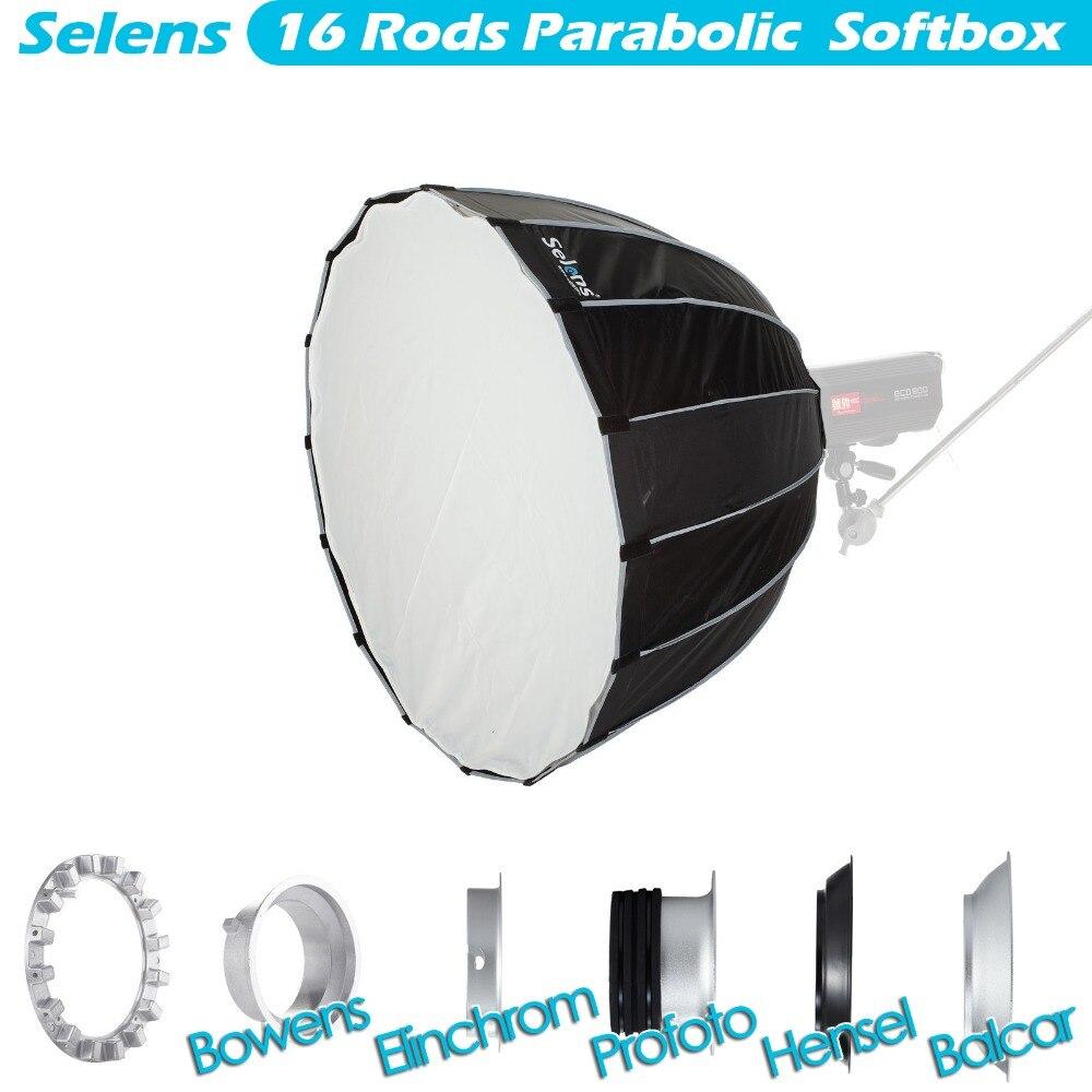 Selens 120cm Hexadecagon Umbrella Light Modifier Professional Softbox for Bowens Balcar Elinchrom Hensel Profoto Monolight аксессуар elinchrom 16см 26143