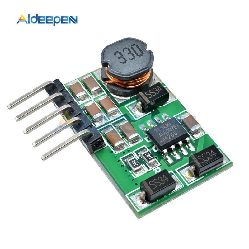 3 V-18 V to+-5V 6V 9V 12V 15V 24V 1.8A 2A положительный и отрицательный двойной Вт конвертер постоянного/переменного тока, повышающий наддува модуль Плата регулятора - Цвет: 6v with pin