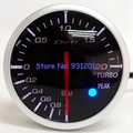 Free Shipping: 60mm Defi BF Meter White Red Back Light Stepper Motor Smoke Lens Turbo Boost Press Meter Gauge