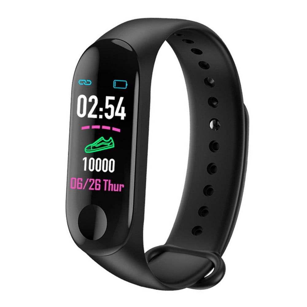 M3 Plus Sport Fitness Smart Armband Blutdruck & Herz Rate Monitor Smart Band Armband Schritt Zähler PK Mi Band 3