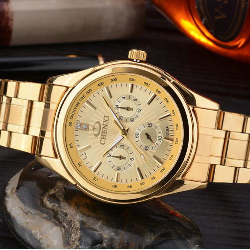 CHENXI Χρυσό ρολόι Ανδρικά ρολόγια - Ανδρικά ρολόγια - Φωτογραφία 4
