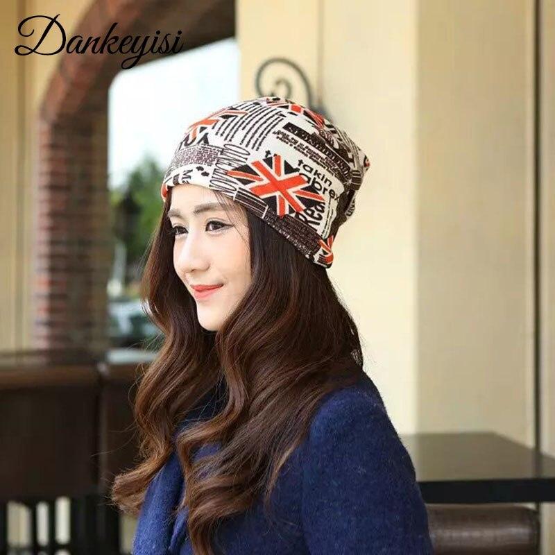 DANKEYISI Ponytail   Beanie   Hat Women Crochet Knit Cap Winter   Skullies     Beanies   Warm Caps Female Knitted Hats For Men
