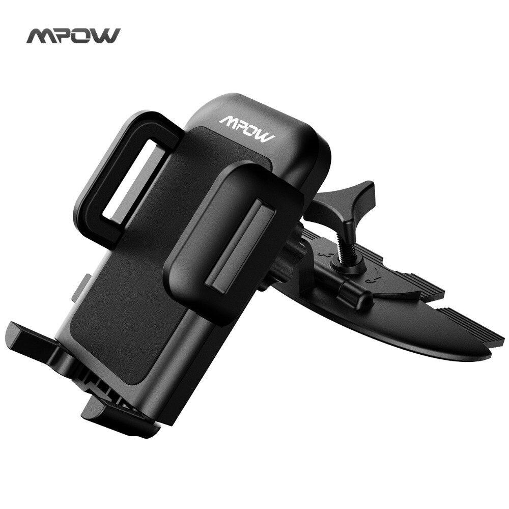 Mpow MCM3 CD Slot supporto del Telefono Dell'automobile Supporto Del Supporto Del Basamento 360 di Rotazione Del Telefono Mobile Supporto Del Basamento per iphone6/7/6 plus/5 sumsung