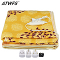 Electric Blanket Plush Double Heated Blanket Security Electric Blanket Thicker Single Electric Mat Body Warmer Heater for Winter