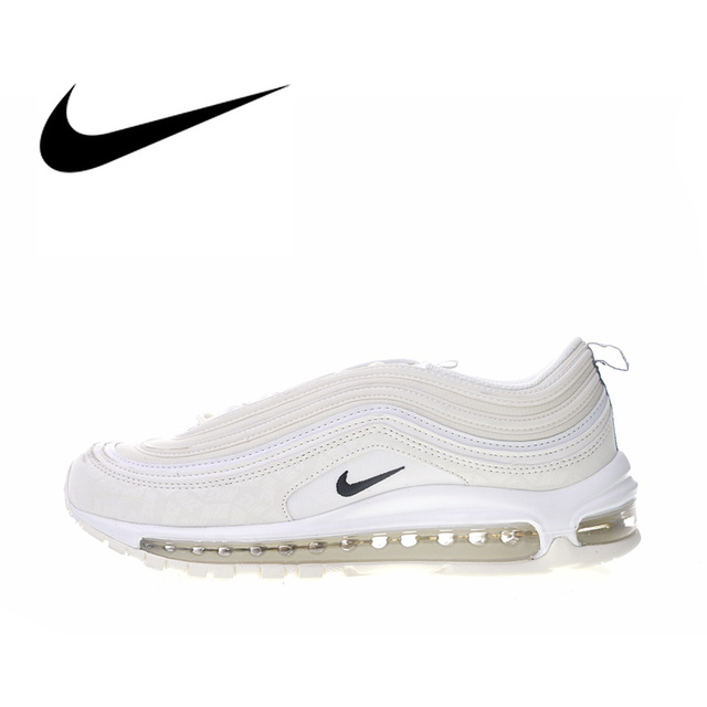 92f17183f64 Original Authentic Nike Air Max 97 Reflective Logo Women Shoes Running Shoes  Sport Outdoor Sneakers 2018