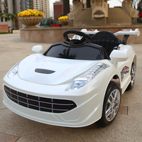 Children Electric Car Four Wheels Double Drive 2.4G Bluetooth Remote Control Car Baby Ride on Car Toddler Toys Kids Car Robot