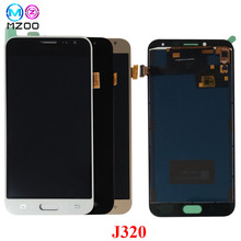 For Samsung Galaxy J3 2016 J320 J320F J320M J320FN LCD Display Touch Screen Pantalla Digitizer Assembly Monitor Replacement Part for original samsung lcd screen for galaxy j3 j320 j320a j320f j320fn 2016 lcd display touch screen digitizer repair assembly
