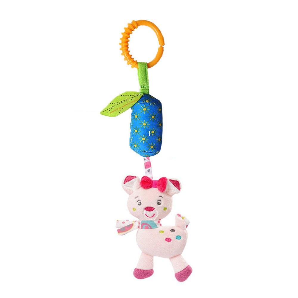 Детские колокольчики Детские Колокольчик погремушка детские висячая погремушка игрушки унисекс Младенцы плюшевая погремушка развивающие игрушки - Цвет: cat