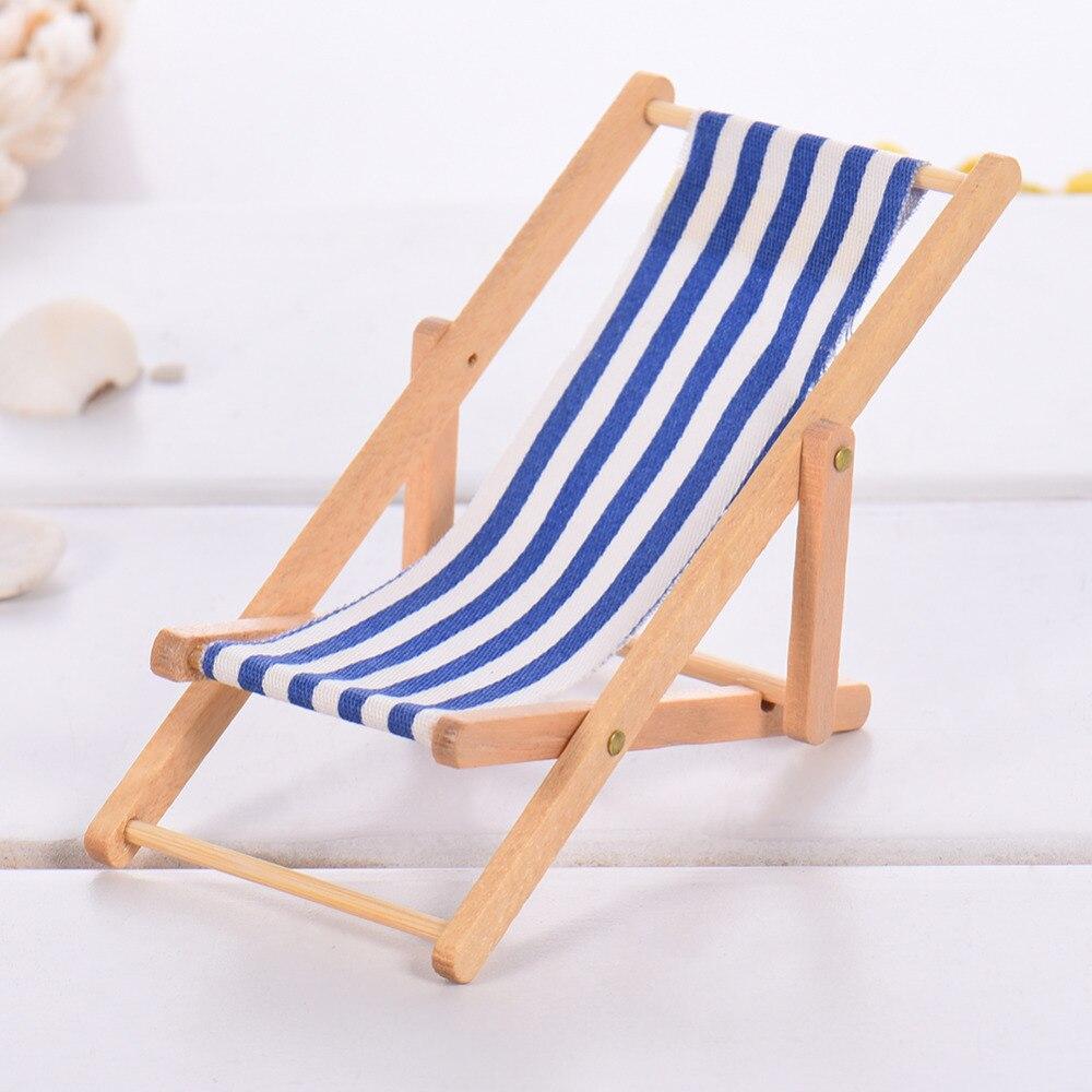 2017 Mini kuća za lutke Drvena stolica za plažu i klupa za - Kućni dekor - Foto 4
