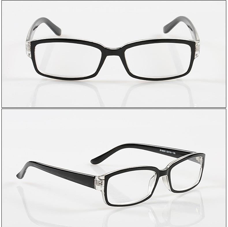 Classic Black Transparent Square Frame Reading Glasses ... | 790 x 787 jpeg 62kB
