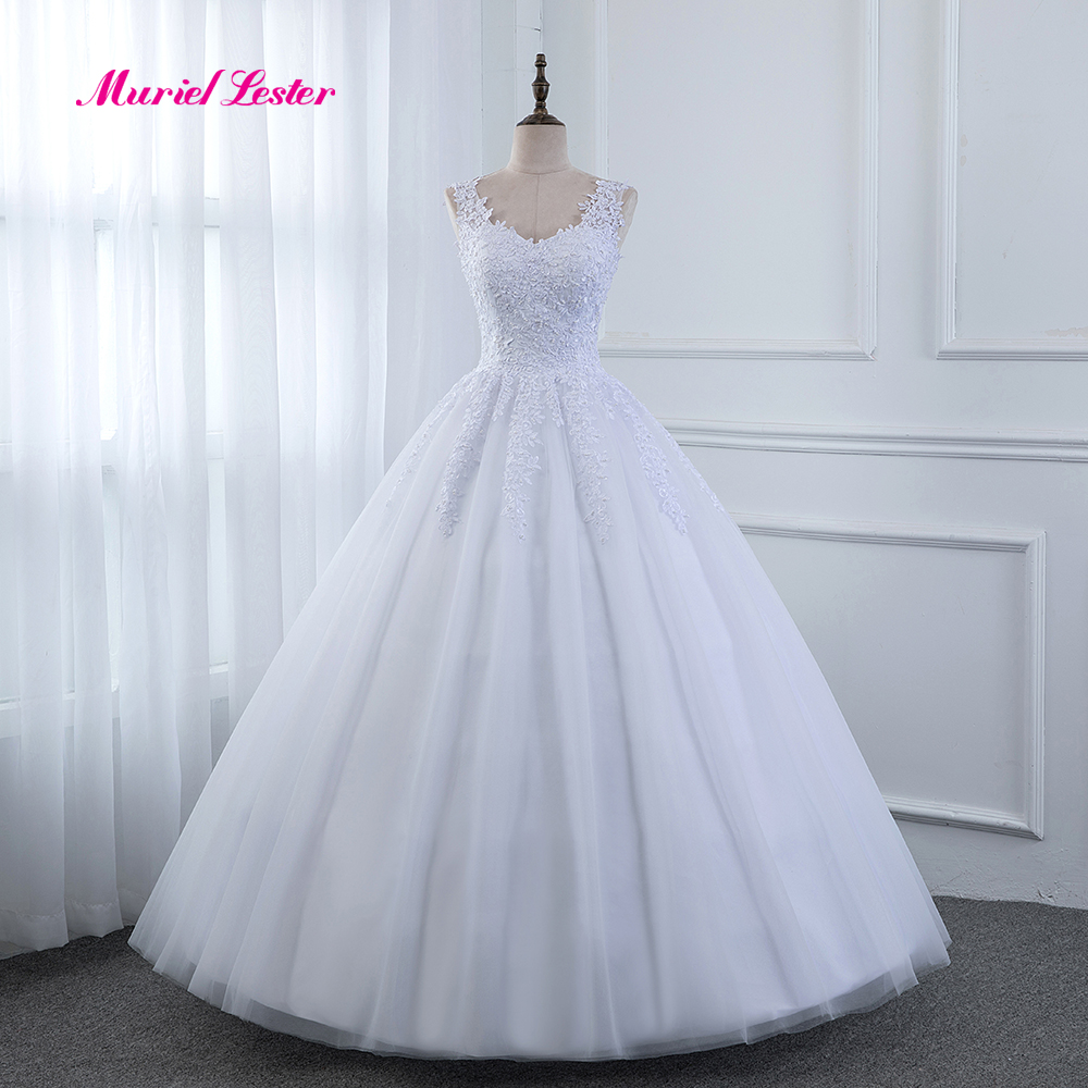 Cheap Plus Size Ball Gown Wedding Dresses: Cheap Ball Gown Wedding Dresses Vestido De Noiva 2019