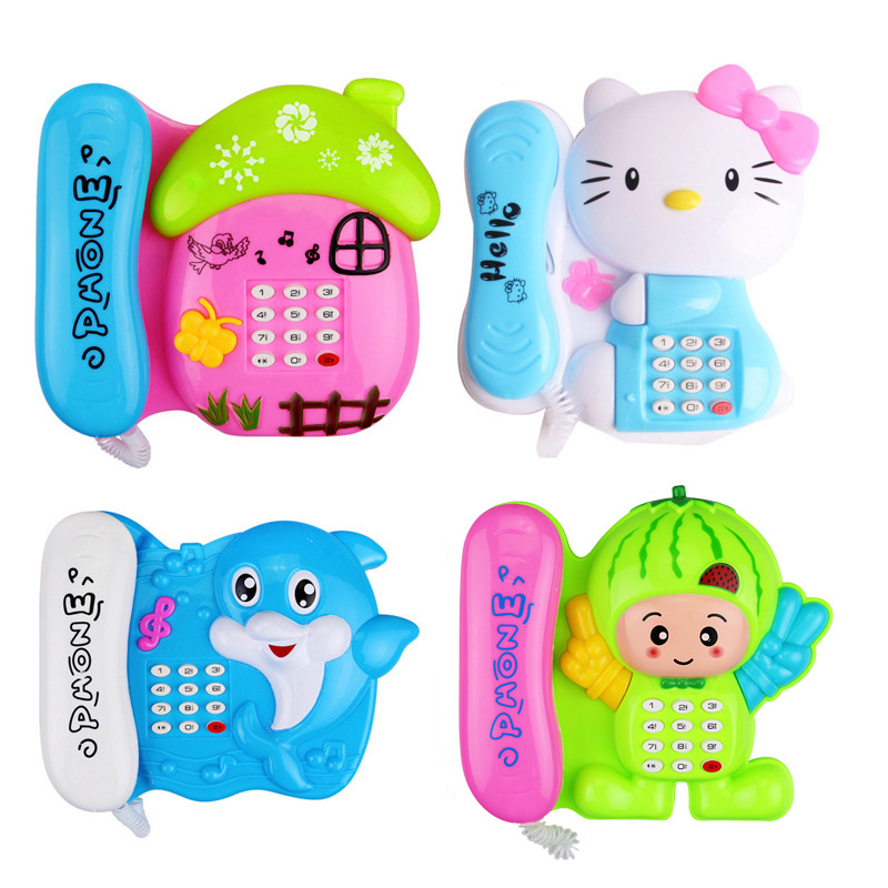 Baby Toys Musical Music Cartoon Phone Developmental For Educational Mobile Kids