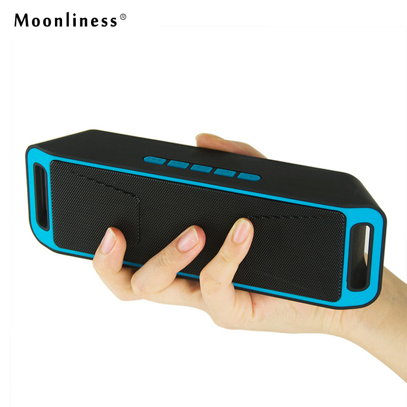 Moonliness SC208 Bluetooth Speakers Wires