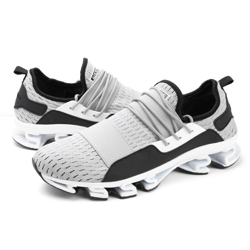Zapatillas Sapatos Más Zapatos 2018 Transpirable 45 Hot Black Moda 47 Masculinos Hombres grey red Krasovki Modelos Casuales Cómodos Ug6Eq