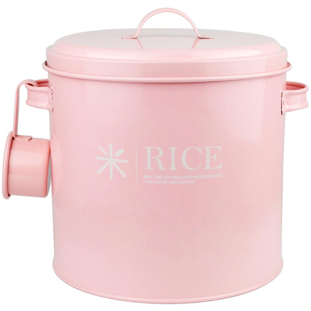 Seau de farine de baril de riz de bidon scellé contre des insectes et des pots d'humidité pot de sucre