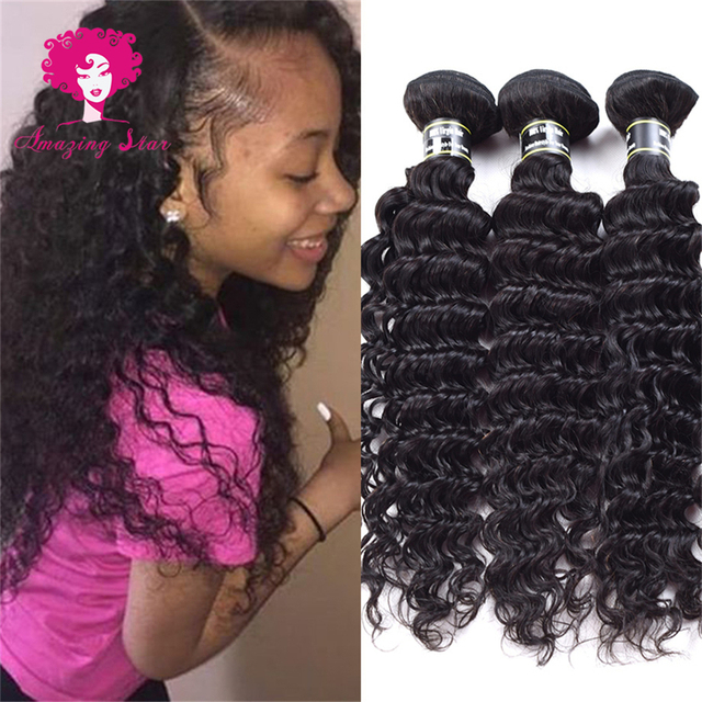 Chinese Deep Wave Human Hair Extension Weave Amazing Hair Products