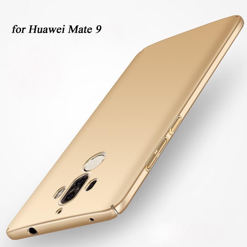 Fundas för Huawei Mate 9 Fodral Plast Hard Hard Cover Mate9 PC - Reservdelar och tillbehör för mobiltelefoner