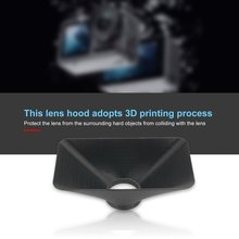 2 Size Lens Hood Cover Anti-SunShade Sport Camera Sunhood For DJI Osmo Action Sports Accessories
