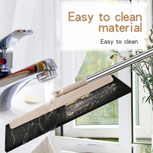 Magic Broom Rubber Mop Clean Sweep Scraping Dust Hair Bathroom Glass  Wiper Blade Cleaning Sweeper Accessories tools